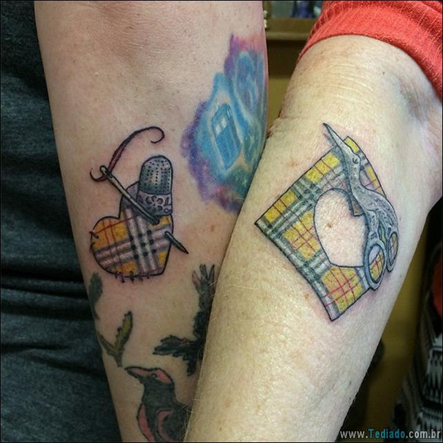 34 Tatuagens de Mãe e Filha mostram seu vínculo inquebrável 2