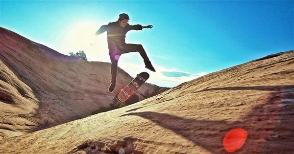 Férias com skate: Belas vistas e um otimo rolé 3