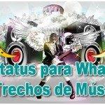 278 Status para Whatsapp de Trechos de Músicas