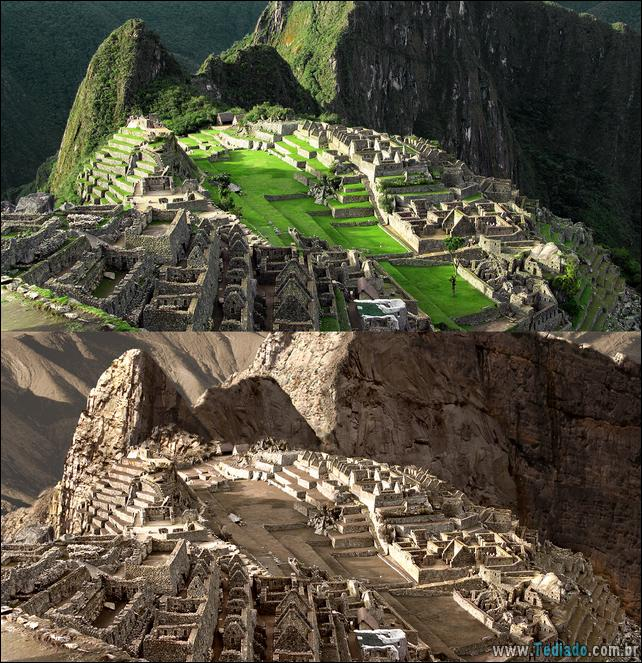 Machu Picchu overview. Lost temple city of incas. Peru O que aconteceria se a água acabasse?