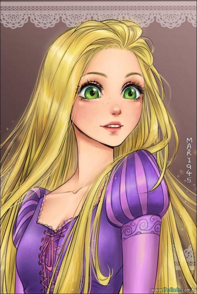 princesas-da-disney-anime-08