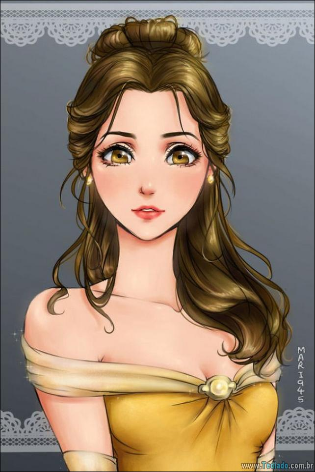 princesas-da-disney-anime-09