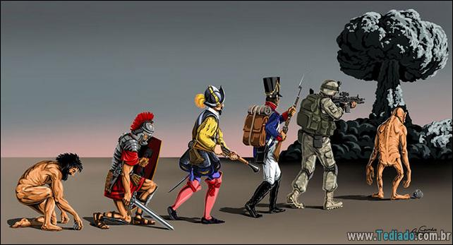 Photo of 44 Satirical Cartoons da evolução