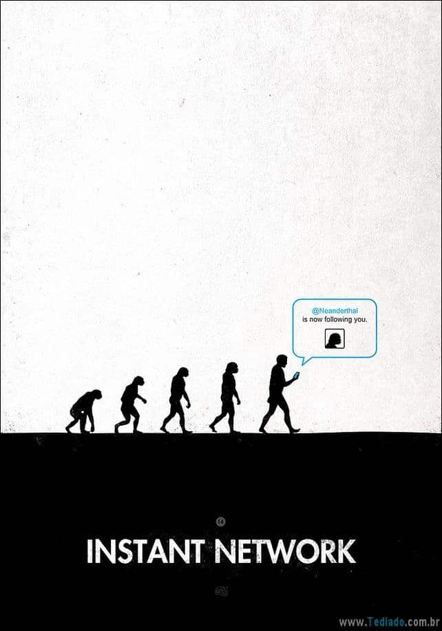 satirical-cartoons-da-evolucao-42 44 Satirical Cartoons da evolução