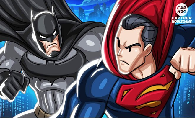 Batman Vs Superman – Parodia Superheroes - batman vs superman