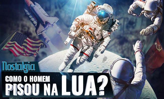 Como o homem chegou na Lua? Guerra Fria - Nostalgia 3