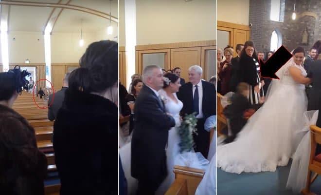 Garoto hiperativo em casamento 4