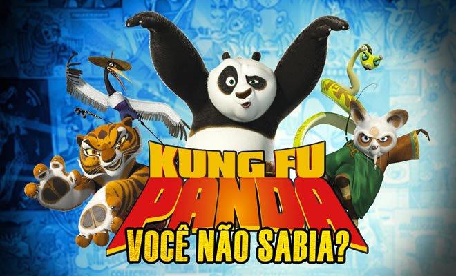 Você Não Sabia? - Kung Fu Panda 1