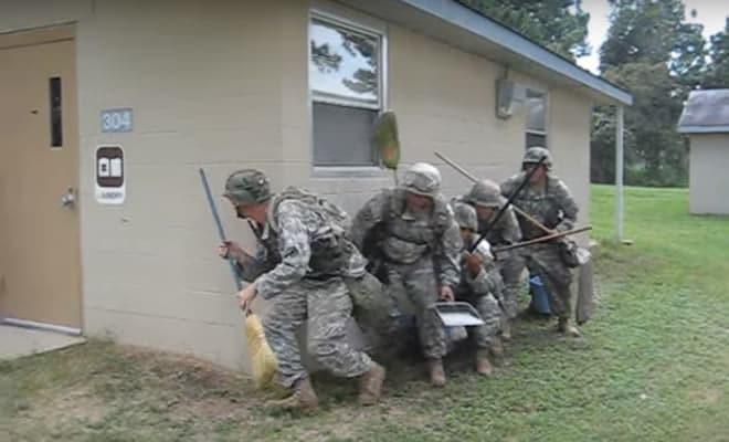 Como os militares limpar suas casas 2