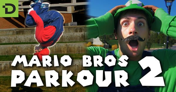 Super Mario Brothers Parkour 2 19