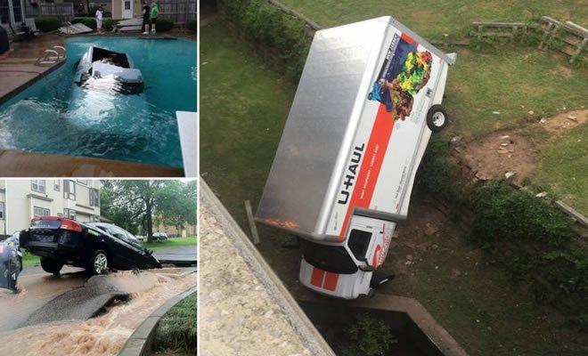 24 acidente bizarro com automóveis 6