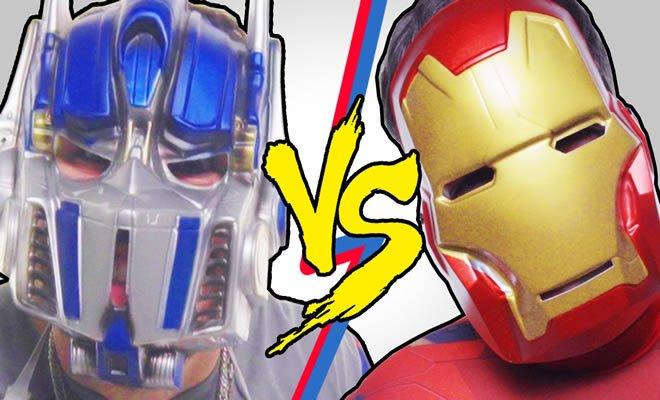 Vingadores Vs Transformers - Batalha de rap 13