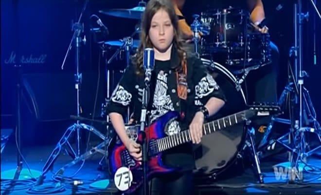 Garoto de 10 anos, faz cover sensacional no Australia's Got Talent 3