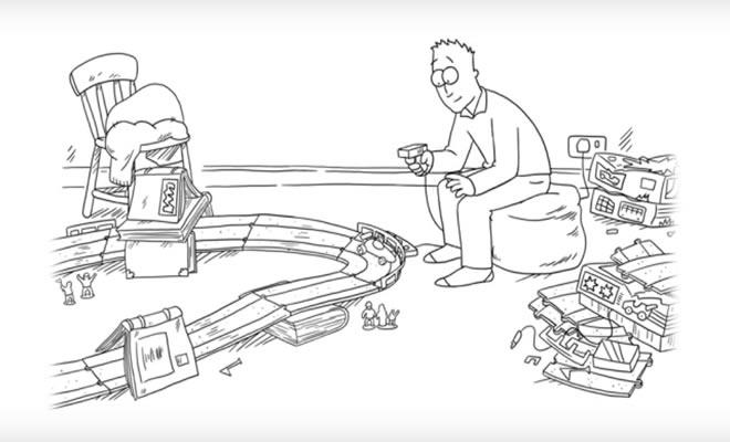 Gato Simon - Pegando o carrinho 1