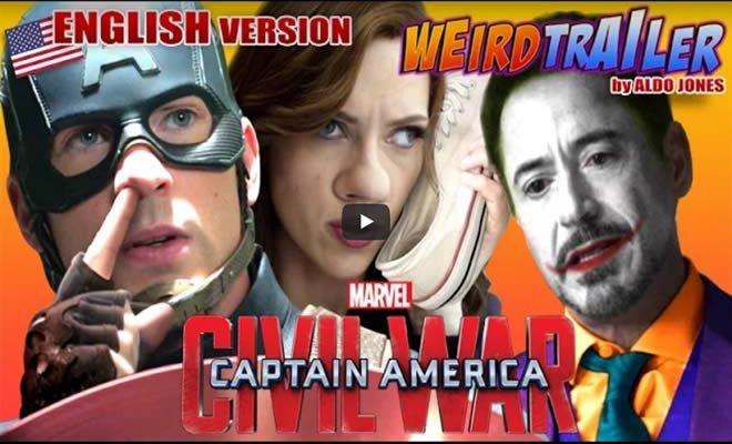 Versão hilária do filme Guerra Civil 2