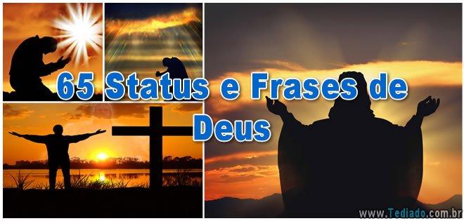 65 Status E Frases De Deus Blog Tediado