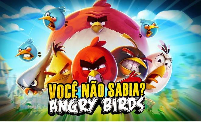 Você Não Sabia? - Angry Birds 4
