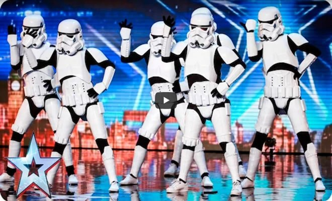 Stormtroopers invade o auditório de Britain's Got Talent 2016