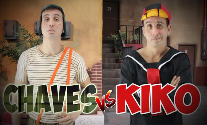 Batalha de rap - Chaves vs Kiko 8