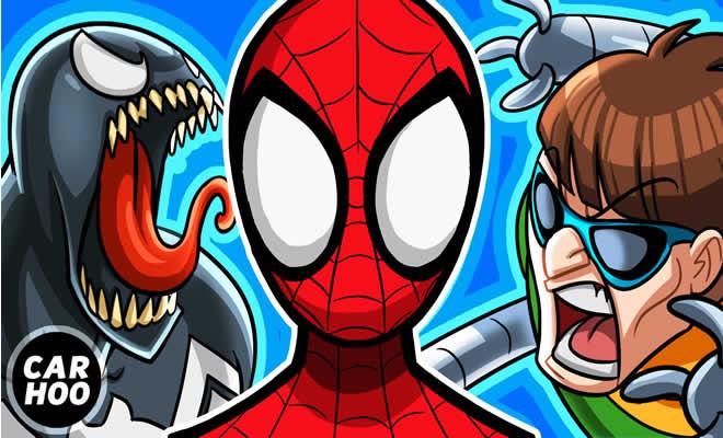 Homem aranha Vs Duende Verde + Doutor Octopus + Venom 3