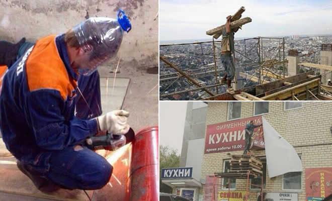 Segurança no trabalho em primeiro lugar (33 fotos) 47