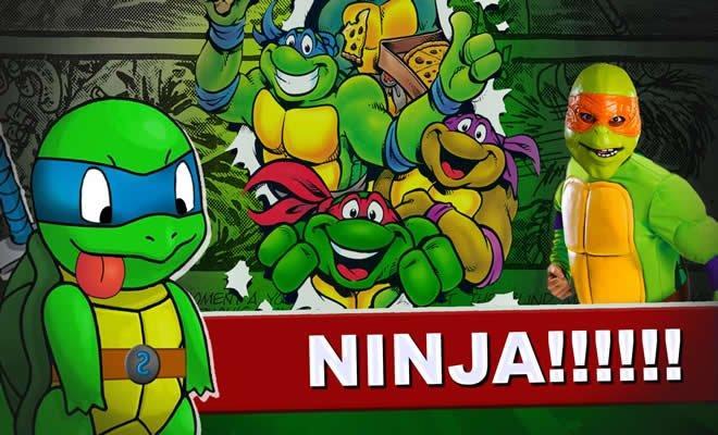 9 coisas loucas sobre as Tartarugas Ninjas 1