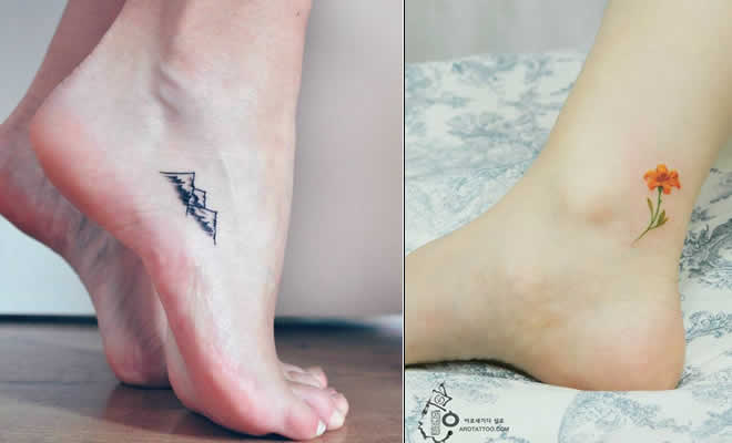 Photo of 40 ideias minúsculas de tatuagens no pé