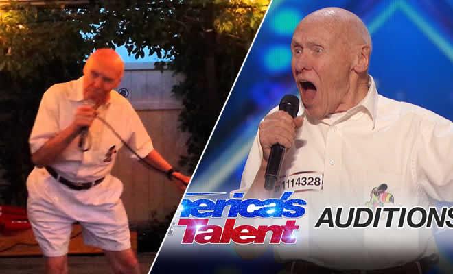 Senhor de 80 anos mostra é cantar no karaokê 4