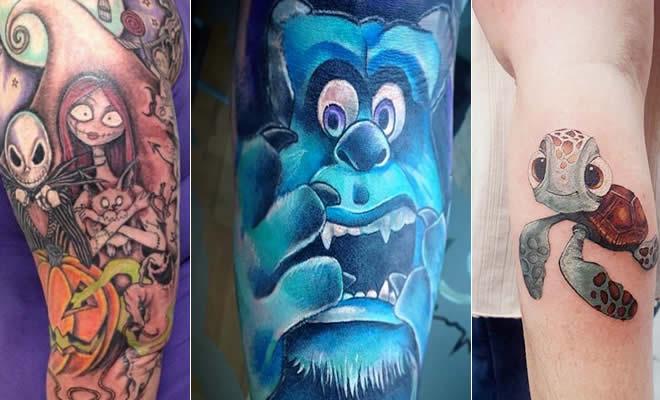 40 ideias de tatuagem inspirada na Pixar 2