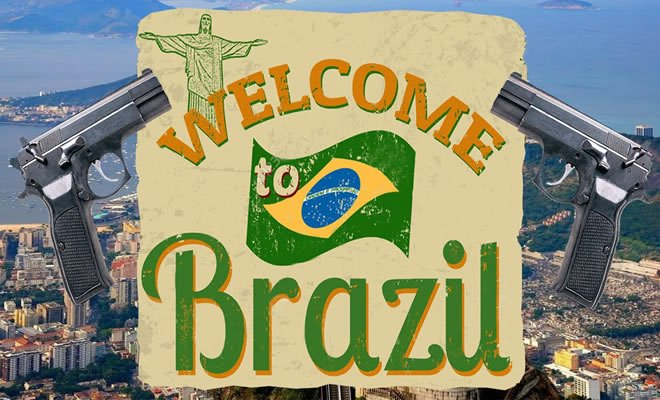 "Turista: ""Bem-vindo"" ao Brasil / Welcome to Brazil 2"