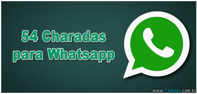 Photo of 54 Charadas para Whatsapp