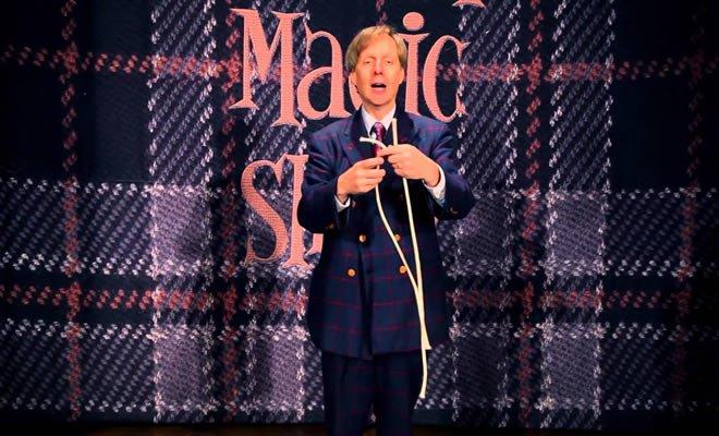Mágico de Las Vegas e incrível truque com cordas 8