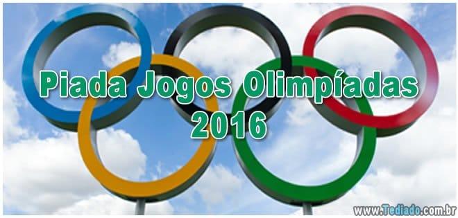 Piada Jogos Olimpíadas 2016 7