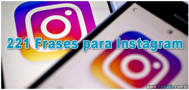 221 Frases Para Instagram Blog Tediado