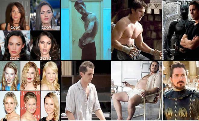 15 transformações alucinante das estrelas de Hollywood 1