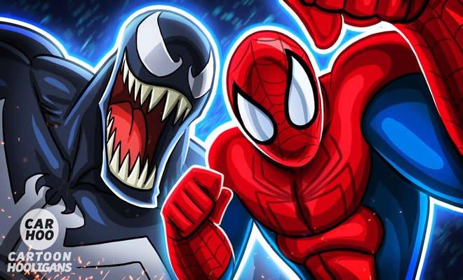 Homem aranha Vs Venom - Mundo paralelo 3
