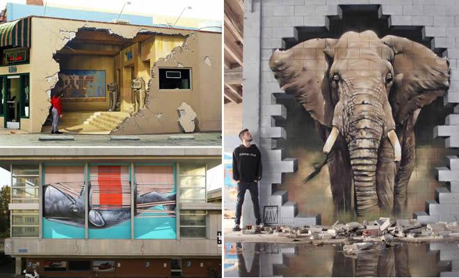 25 exemplos incrível de arte de rua em todo o mundo 3