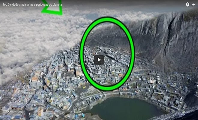 Top 5 cidades mais altas e perigosas do planeta