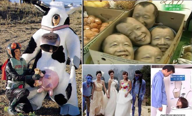 16 coisas bizarras que você só pode ver na Ásia 2