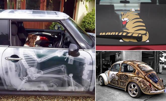 32 ideias criativas para você usar no seu carro 1