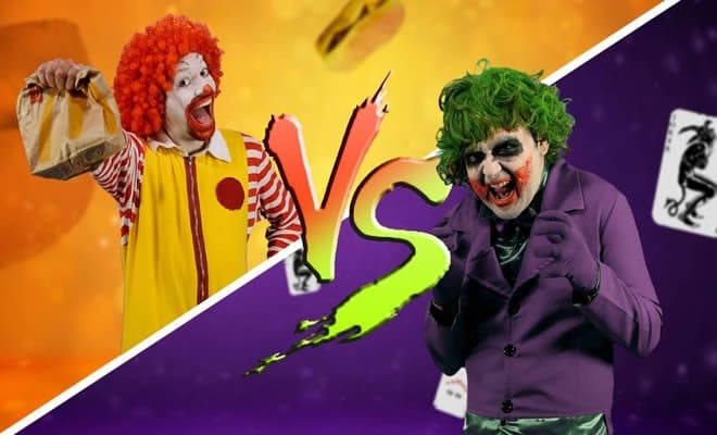 Batalha de rap: Ronaldo McDonald Vs Coringa 5
