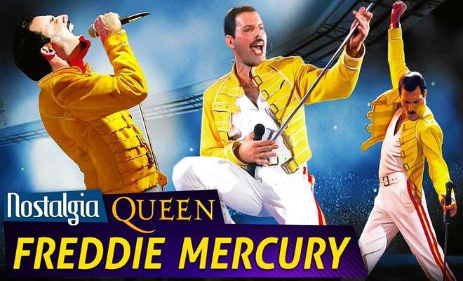 Freddie Mercury (Queen) - Nostalgia 8