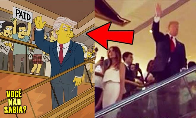 Photo of Os simpsons previram Trump presidente? Será mesmo?