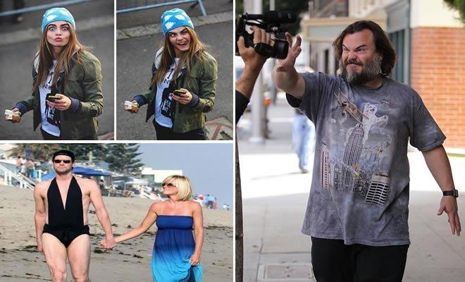 23 Reações de celebridades brilhante para o paparazzi 4