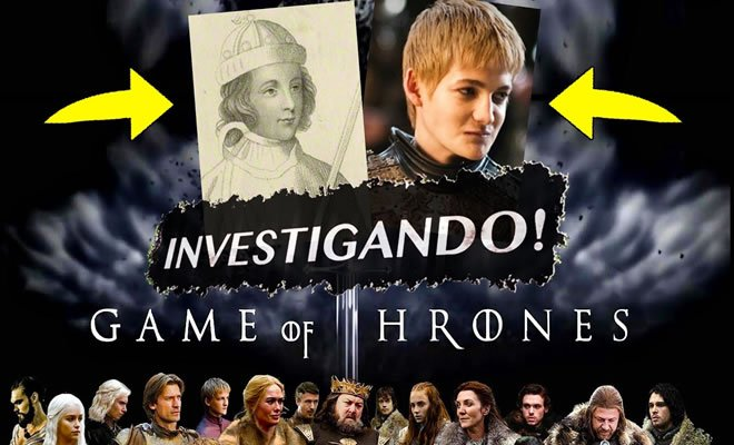 A grande inspiração de Game of Thrones? - game of thrones
