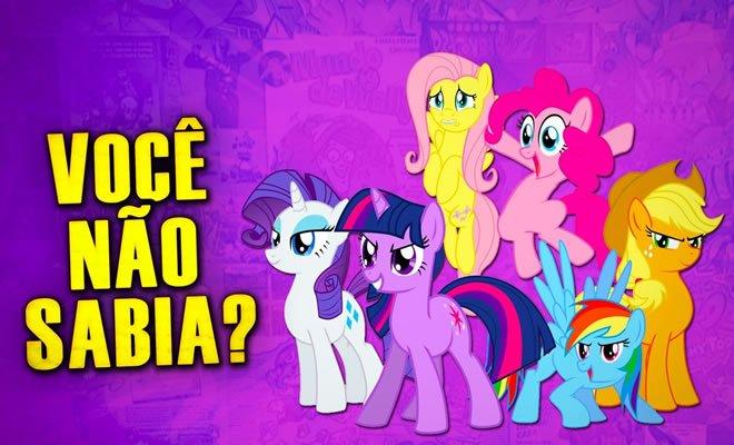 Você Não Sabia? - My Little pony 8