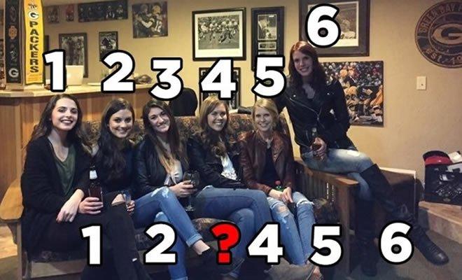 As pessoas estão indo a loucura tentando encontrar o par de pernas ausentes nesta imagem 8