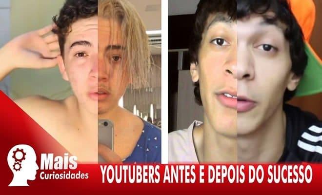 Youtubers antes e depois do sucesso 1