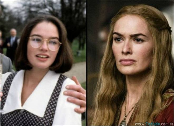 Como eram os personagens do Game of thrones antes da séria (30 fotos)