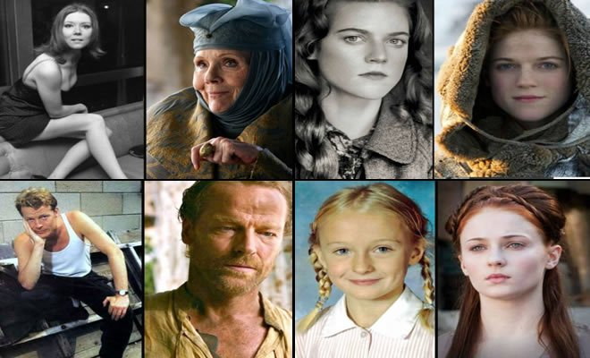 game of thrones - game of thrones - Como eram os personagens do Game of thrones antes da séria (30 fotos)